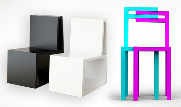 Кресла из фанеры для небольшой комнаты
