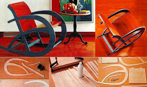 Как сделать кресло-качалку своими руками