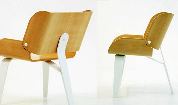 Дизайнерские стулья из фанеры