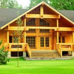 Строим деревянный дом из бревен или бруса