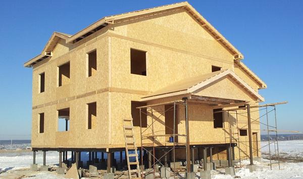 Каркасные дома по канадской технологии строительства