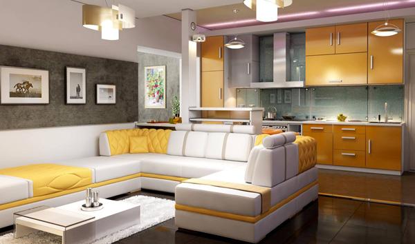 Кухня и гостиная: совмещать или не совмещать?