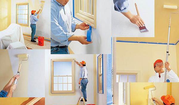 Как быстро и без проблем покрасить комнату
