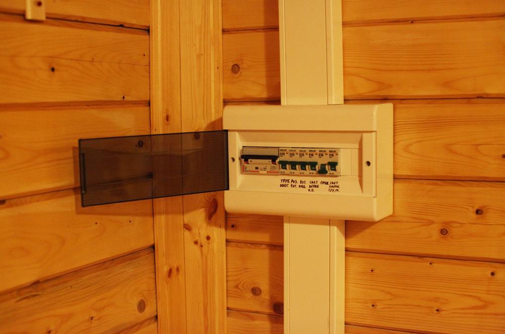 Электричество в деревянном доме своими руками фото
