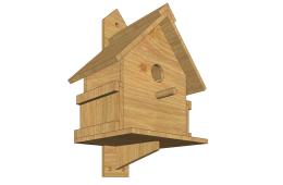 необычные и креативные скворечники для птиц
