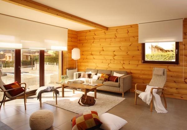 Тенденции в дизайне интерьера 2013: дерево в домашней обстановке