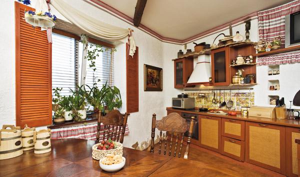 Кухня в украинском стиле – делаем сами