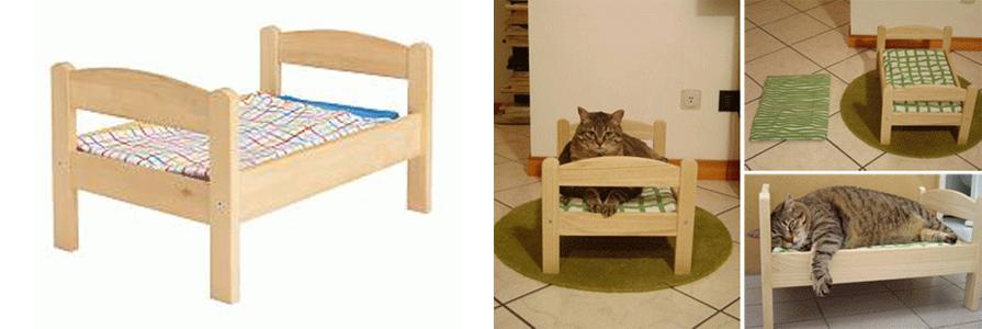 Кровать для кошки деревянная своими руками 93