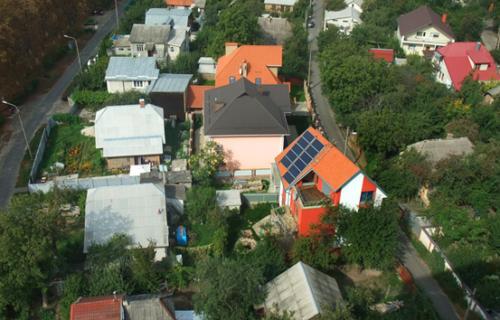 «Дом Солнца» - первый пассивный дом в Украине