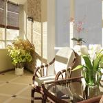 Обустройство интерьера вашего балкона