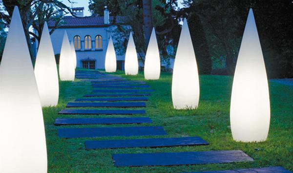 Садовые светильники на солнечных батареях – экономно и стильно