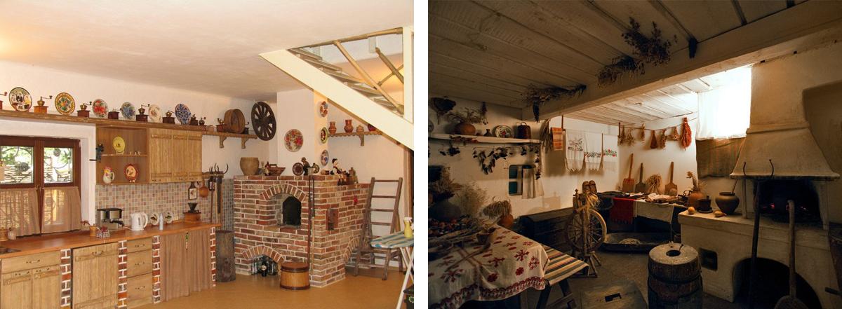 украинский стиль в загородном доме