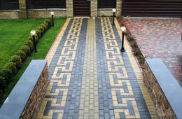 способ укладки тротуарной плитки