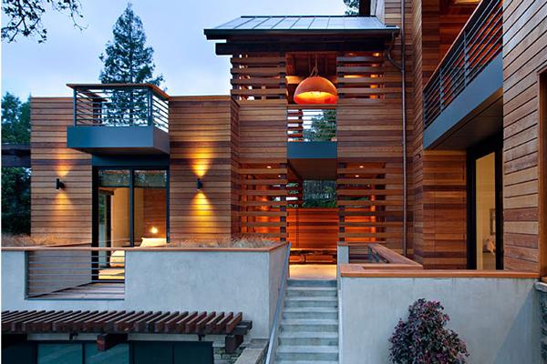 Дизайн дома на холме от SB Architects