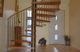 вариант лестницы на второй этаж