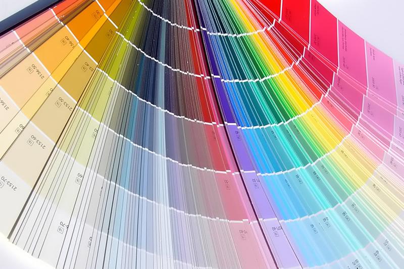 Колерование красок для жилых помещений