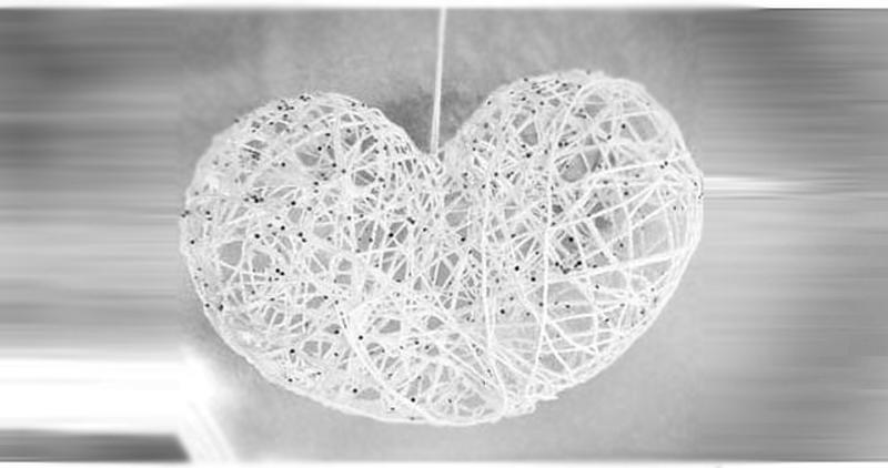 новогодние игрушки: объемное сердце