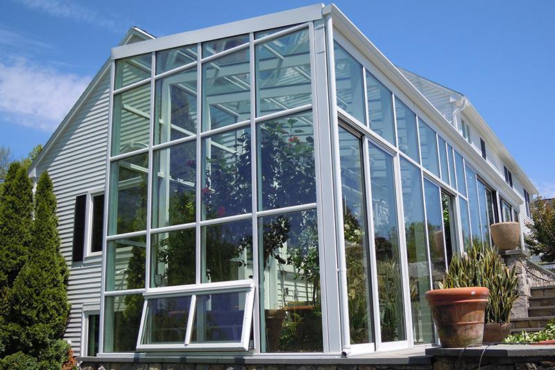 пристройка для дома: зимний сад