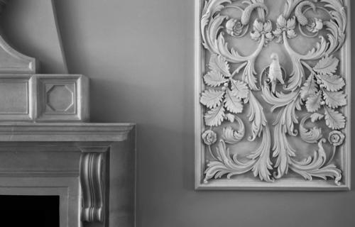 Лепнина в декоре традиционного интерьера