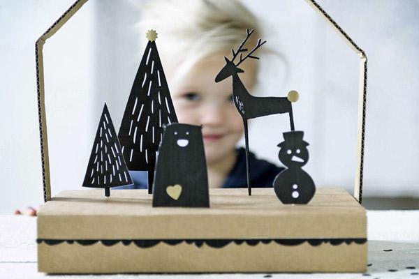 Идеи новогоднего декора для родителей и детей