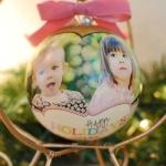 декупаж игрушек на новый год