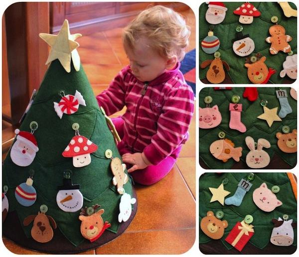Как сделать новогоднюю игрушку своими руками с ребенком
